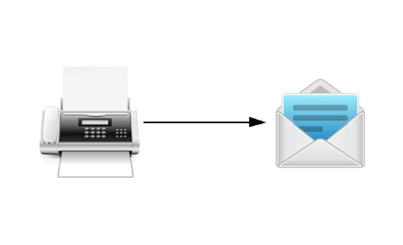 Fax to email fastwan